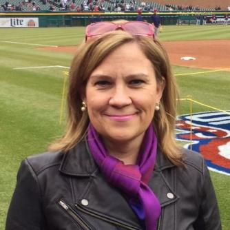 Helene St  James - Detroit Red Wings hockey Reporter & Writer